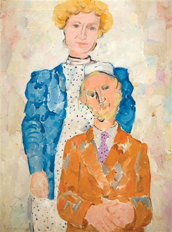 jerusalem couple by pinchas litvinovsky