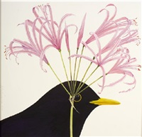 nerine and blackbird by ed miliano