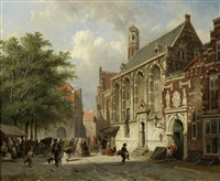going to the orphanage by adrianus eversen