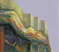 Veil and steps V, 1995