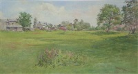 summer in troutdale, near keswick (+ 2 others, irgr; 3 works) by cuthbert rigby