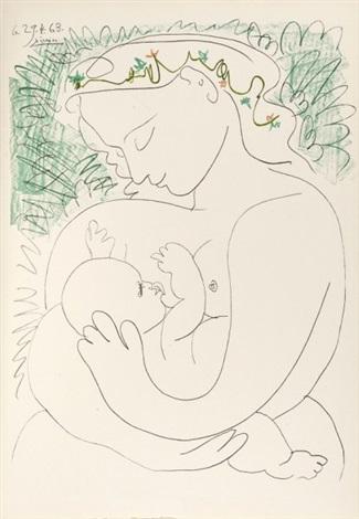 Grande maternite by Pablo Picasso on artnet