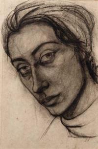 portrait de femme by m. a. poniatowki-krugier