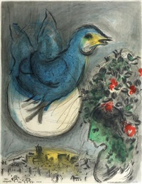 sans titre by marc chagall