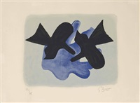 oiseaux (vallier 184) by georges braque