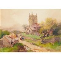 european village by william st. thomas smith