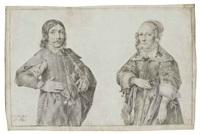 portraits présumés des enfants de roeland govertsz van haeften et johanna roch by h. hoet