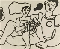 l'enfant à l'accordeon by fernand léger