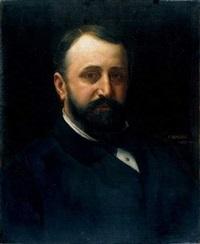 portrait d'homme by vlacho bukovac