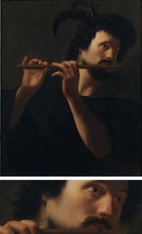 le flûtiste by hendrik munniks