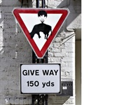 slow down (in 2 parts) by banksy