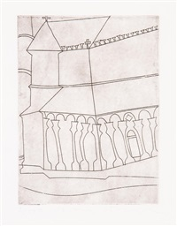 fragment of tuscan cathedral by ben nicholson