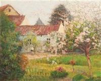landscape by victor charreton