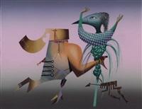 composition surréaliste by jules perahim