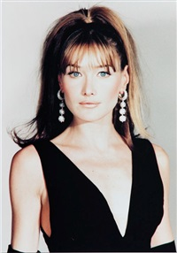 carla bruni by jean-pierre fizet