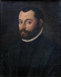 portrait d'homme en buste by leandro da ponte bassano