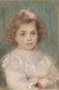 portrait of a child by willem matthijs maris
