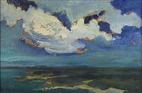 landscape with river by jan stanislawski