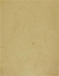portrait de femme de profil by constantin brancusi