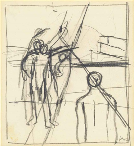 study of figures by keith vaughan