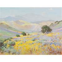 wildflower valley, pasadena by frank montague moore