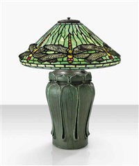 dragonfly table lamp by tiffany and grueby