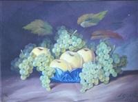 still life with grapes by hugo karlis grotuss
