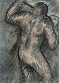 nude miner by george bissill