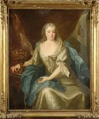 portrait de madame de grignan by louis rené vialy