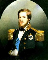 portrait de l'empereur du brésil pierre ii by ferdinand krumholz