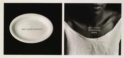 c ration by lorna simpson
