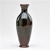 tiger eye vase by edward abel