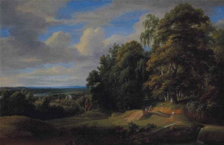 paysage du brabant by jacques d arthois