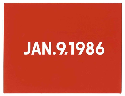 january 9 1986 by on kawara