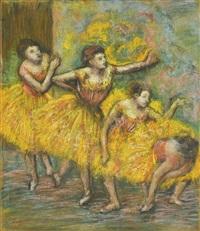 quatre danseuses by edgar degas