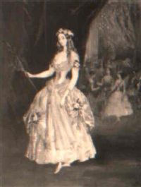 julia taafe at a ball in rome by grigory gagarin