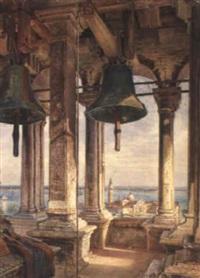 blick vom campanile auf san giorgio maggiore by emanuel stöckler