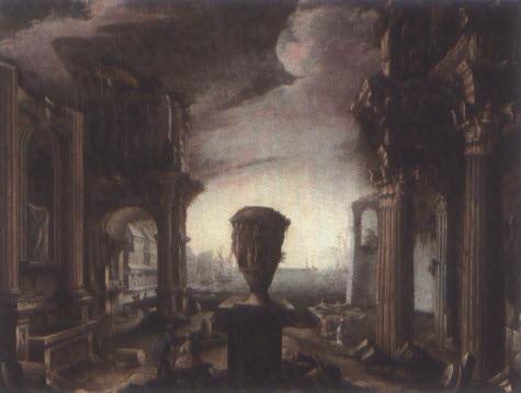 capriccio architettonico by alessandro salucci
