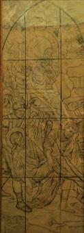 le saint martyr (2 works) by jules adler