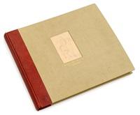 eugene delacroix. 33 dessins (chevaux) (folio of 33 works) by eugène delacroix