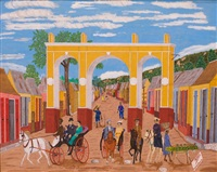 the bourgeoisie of cap-haitien before the occupation of 1915 by philomé obin