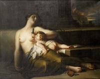 mère et son enfant durant la guerre de troie by pierre nicolas legrand de lérant