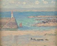 belle-ile en mer by blanche hoschedé-monet
