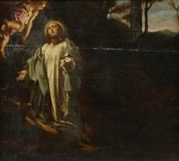 le christ au mont des oliviers by correggio