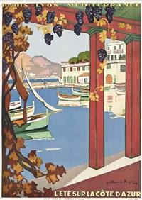 le été sur la côte d'azur by guillaume georges roger