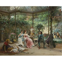 the attentive guests by adrien de boucherville