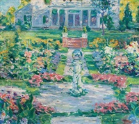 new england garden by frank townsend hutchens