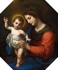 madonna mit kind (after carlo dolci) by alois von anreiter