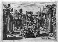 la contesa fra le muse e le pieridi by epifanio d' alfiano