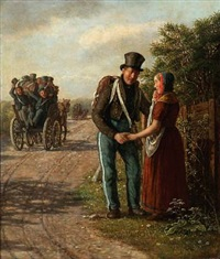the farewell. motif from the first schleswian war by david monies